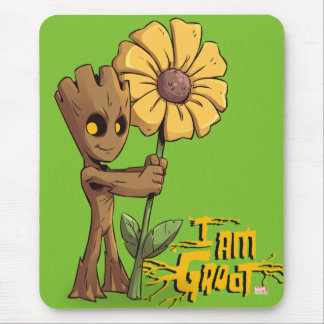 Guardians of the Galaxy | Baby Groot & Daisy Mouse Pad