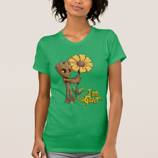 Guardians of the Galaxy   Baby Groot & Daisy T-Shirt