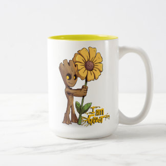 Guardians of the Galaxy | Baby Groot & Daisy Two-Tone Coffee Mug