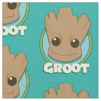 Guardians of the Galaxy | Baby Groot Face Fabric