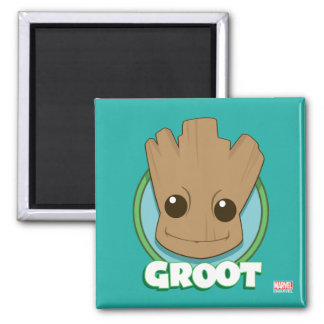 Guardians of the Galaxy | Baby Groot Face Magnet