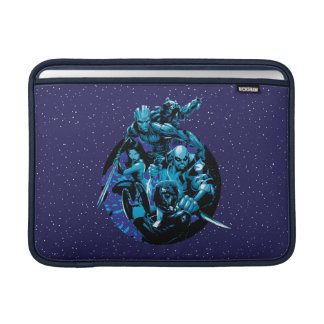 Guardians of the Galaxy   Blue Crew Graphic MacBook Sleeve