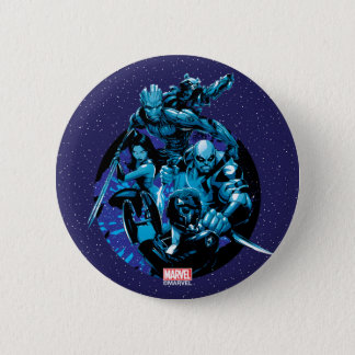 Guardians of the Galaxy | Blue Crew Graphic Pinback Button