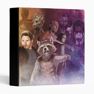 Guardians of the Galaxy Characters Concept Art 3 Ring Binder