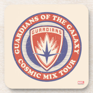 Guardians of the Galaxy | Cosmic Mix Tour Badge Beverage Coaster