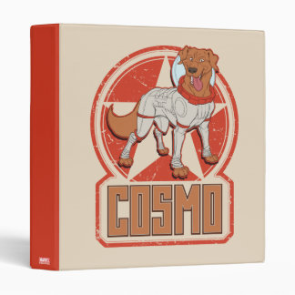Guardians of the Galaxy | Cosmo Character Badge 3 Ring Binder