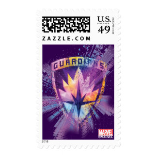 Guardians of the Galaxy | Crest Neon Burst Postage