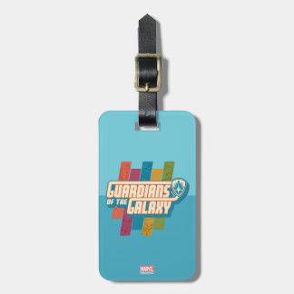 Guardians of the Galaxy   Crew Color Bar Logo Bag Tag