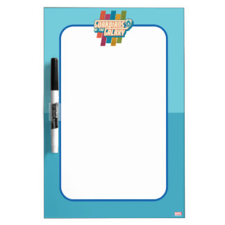 Guardians of the Galaxy | Crew Color Bar Logo Dry-Erase Board
