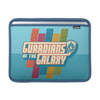 Guardians of the Galaxy   Crew Color Bar Logo Sleeve For MacBook Air