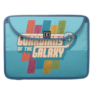 Guardians of the Galaxy   Crew Color Bar Logo Sleeve For MacBooks