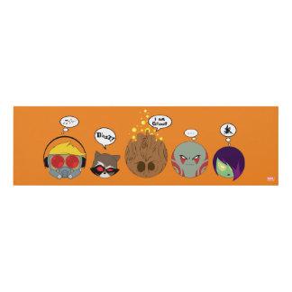 Guardians of the Galaxy | Crew Comic Emoji Art