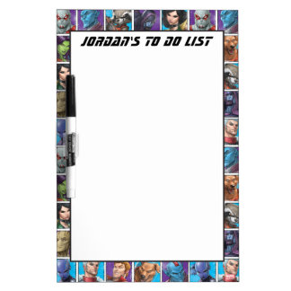 Guardians of the Galaxy | Crew Grid Dry-Erase Board
