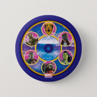 Guardians of the Galaxy | Crew In Neon Circles Button