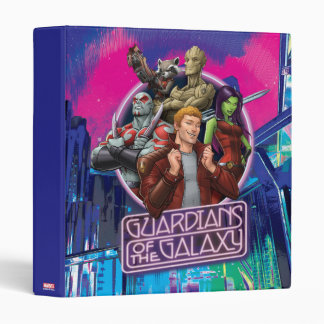 Guardians of the Galaxy | Crew Neon Sign Binder