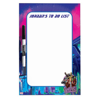 Guardians of the Galaxy | Crew Neon Sign Dry Erase Board