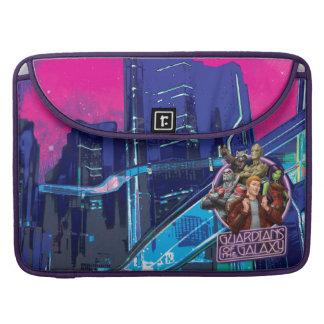 Guardians of the Galaxy   Crew Neon Sign MacBook Pro Sleeve