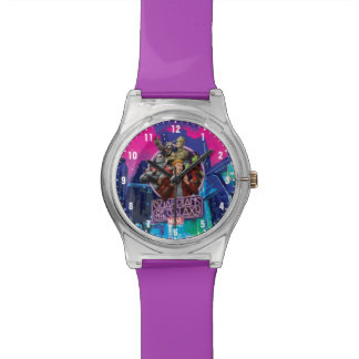 Guardians of the Galaxy | Crew Neon Sign Wristwatch
