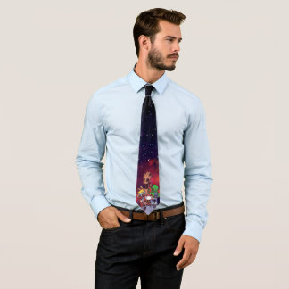 Guardians of the Galaxy | Crew On Asteroid Neck Tie