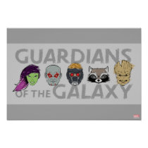 Guardians of the Galaxy | Crew Rough Sketch Poster