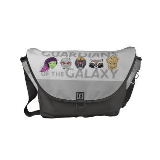 Guardians of the Galaxy | Crew Rough Sketch Small Messenger Bag