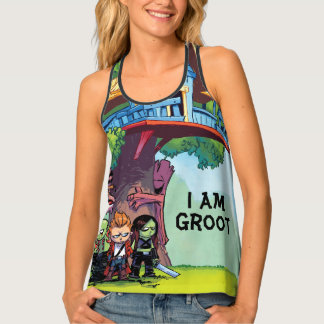 Guardians of the Galaxy   Crew & Treehouse Tank Top