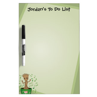 Guardians of the Galaxy | Dancing Baby Groot Dry Erase Board