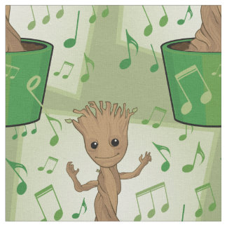 Guardians of the Galaxy | Dancing Baby Groot Fabric