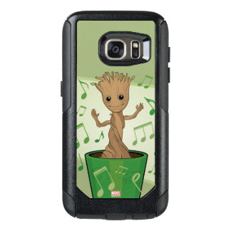 Guardians of the Galaxy   Dancing Baby Groot OtterBox Samsung Galaxy S7 Case