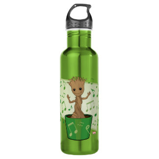 Guardians of the Galaxy | Dancing Baby Groot Water Bottle