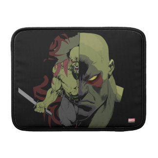 Guardians of the Galaxy | Drax Close-Up Graphic MacBook Air Sleeve
