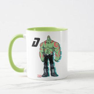 Guardians of the Galaxy   Drax Mugshot Mug
