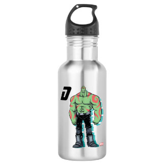 Guardians of the Galaxy | Drax Mugshot Stainless Steel Water Bottle