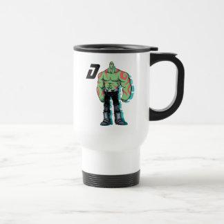 Guardians of the Galaxy   Drax Mugshot Travel Mug