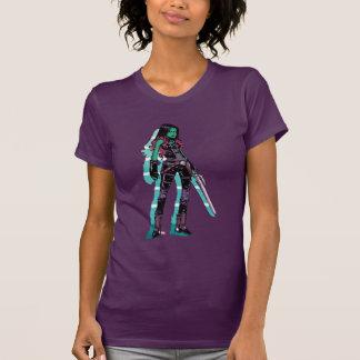 Guardians of the Galaxy   Gamora Mugshot T-Shirt