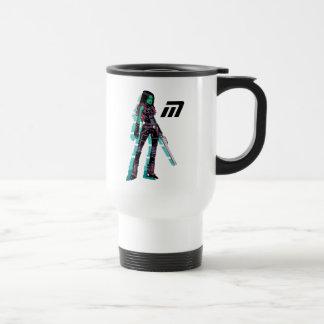 Guardians of the Galaxy   Gamora Mugshot Travel Mug