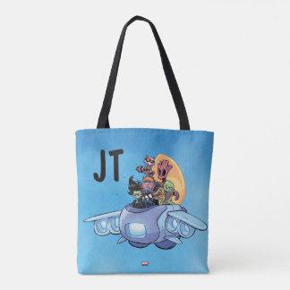 Guardians of the Galaxy   Gamora Pilots Ship Tote Bag