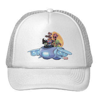 Guardians of the Galaxy | Gamora Pilots Ship Trucker Hat
