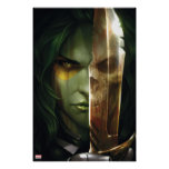 Guardians of the Galaxy   Gamora With Blade Poster