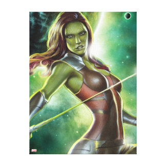 Guardians of the Galaxy | Gamora With Sword Canvas Print