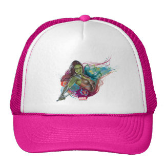 Guardians of the Galaxy | Gamora With Sword Trucker Hat