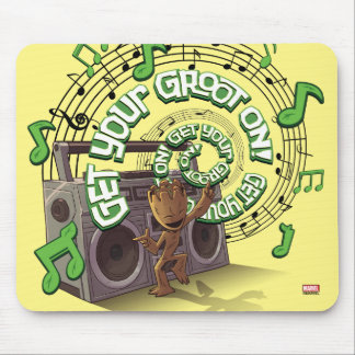 Guardians of the Galaxy | Groot Boombox Mouse Pad