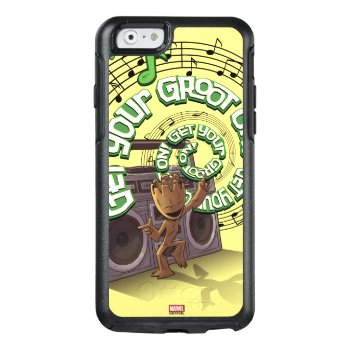 Guardians Of The Galaxy | Groot Boombox Otterbox Iphone 6/6s Case by gotgclassics at Zazzle