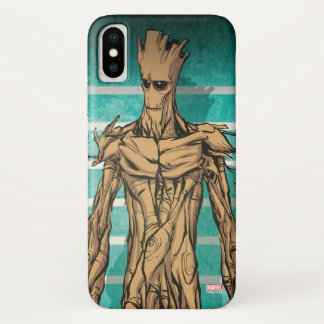 Guardians of the Galaxy | Groot Mugshot iPhone X Case