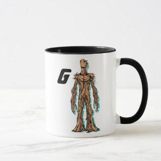 Guardians of the Galaxy   Groot Mugshot Mug