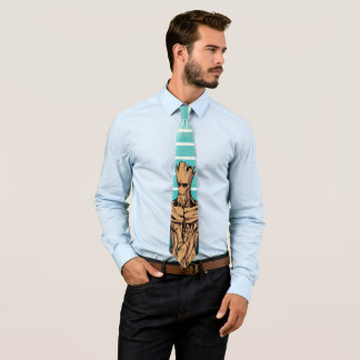 Guardians of the Galaxy | Groot Mugshot Neck Tie