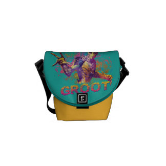 Guardians of the Galaxy | Groot Neon Graphic Courier Bag