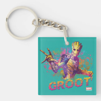 Guardians of the Galaxy | Groot Neon Graphic Keychain