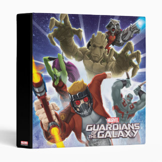 Guardians of the Galaxy | Group Attack 3 Ring Binder