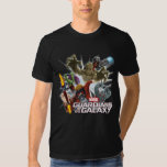 Guardians of the Galaxy Group Attack T-Shirt